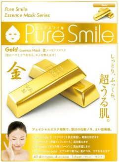 Японсая маска с золотом pure smile