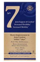 Solgar, No 7, для комфорта и поддержки суставов с коллагеном