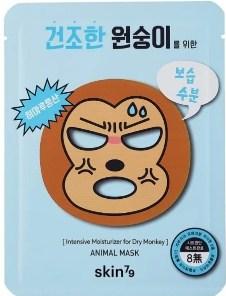 тканевые маски с обезьяной скин 79
