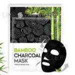 9SKIN Маска для лица тканевая с бамбуковым углем Bamboo Charcoal