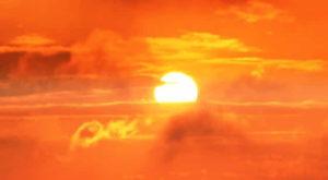 солнце восход