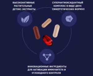 состав детокс про.актив сибирское здоровье