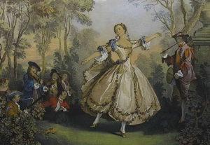 балерина Ла Камарго