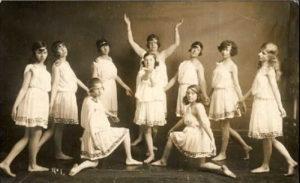 балетная труппа в конце 19 в.